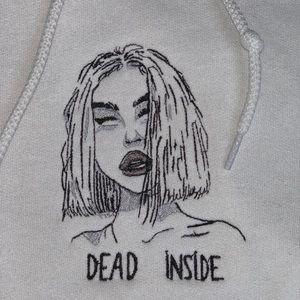 Dead Inside Aesthetic Hoodie